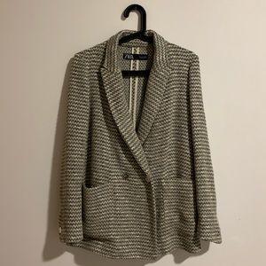 Tweed zara blazer